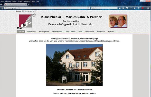Rechtsanwälte Nicolai